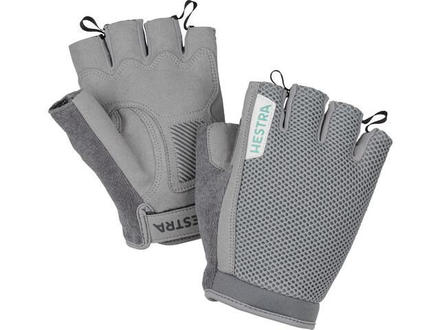 Hestra Bike SR Short Finger Gloves light grey